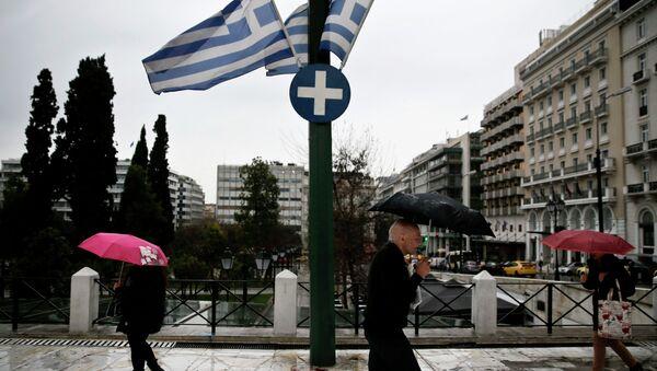 Grčke zastave - Sputnik Srbija