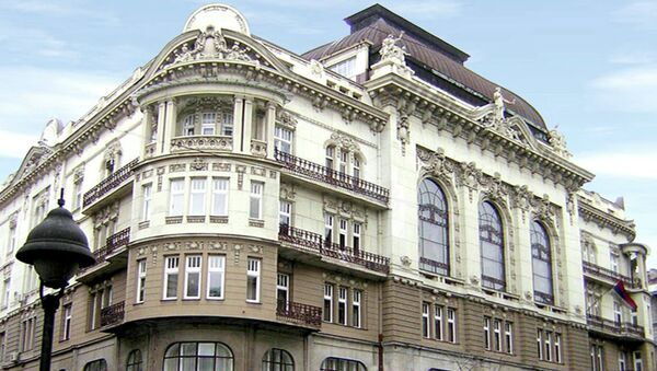 Зграда САНУ у Кнез Михајловој улици - Sputnik Србија