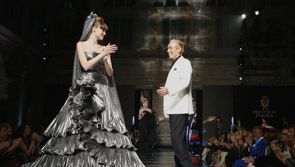 Модна ревија италијанског дизајнера Рената Балестре - Sputnik Србија