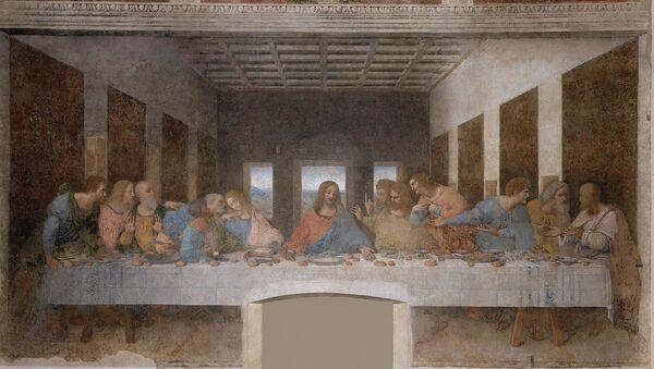 """Леонардо да Винчи, """"Тајна вечера"""" (1498. Црква Санта Марија дела Грације, Милано) - Sputnik Србија"""