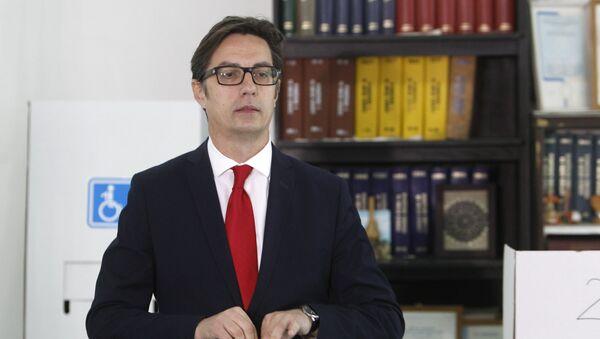 Председник Северне Македоније Стево Пендаровски - Sputnik Србија