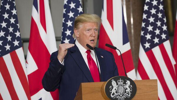 Američki predsednik Donald Tramp računa na drugi mandat u Beloj kući  - Sputnik Srbija