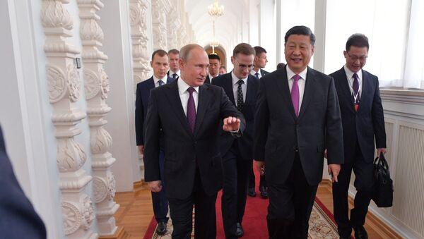 Владимир Путин и Си Ђинпинг у Москви - Sputnik Србија