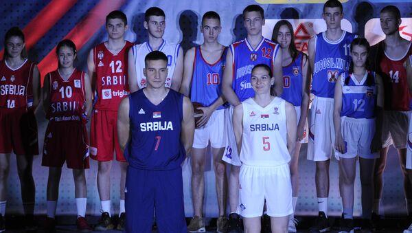 Нови дресови кошаркашке репрезентације - Sputnik Србија