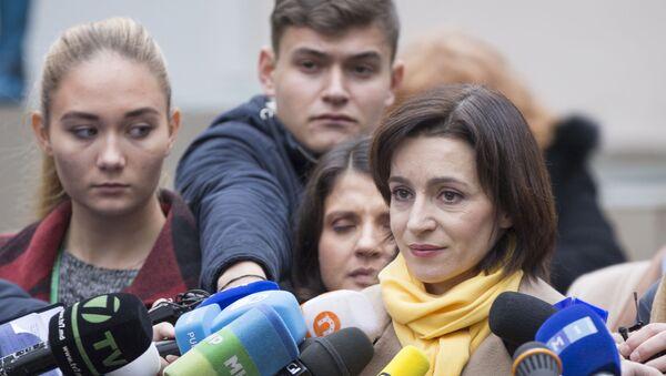 Нова премијерка Молдавије Маја Санду - Sputnik Србија