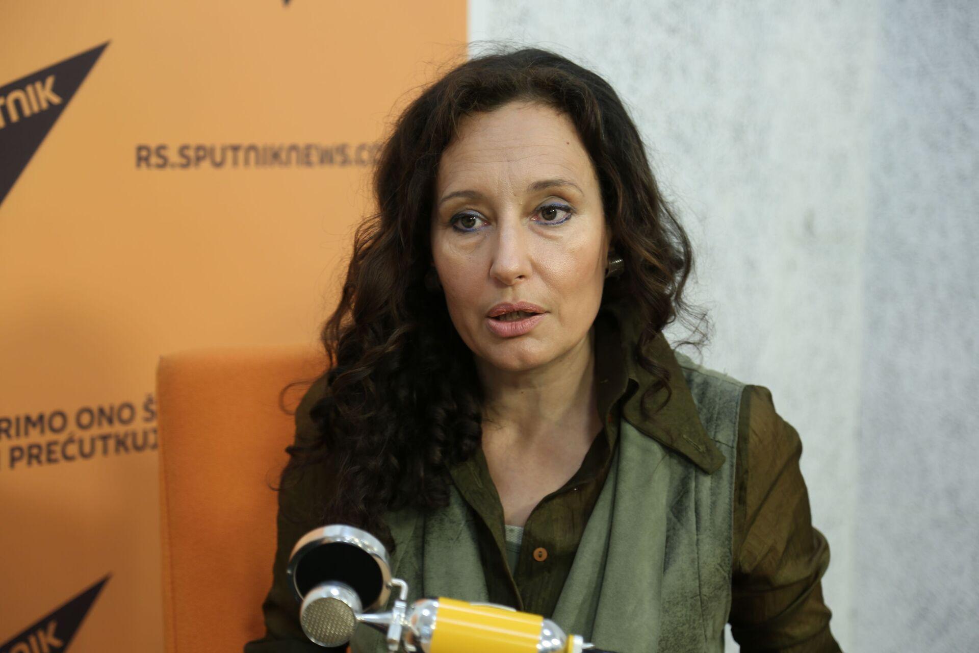 Ivana Žigon - Sputnik Srbija, 1920, 17.09.2021