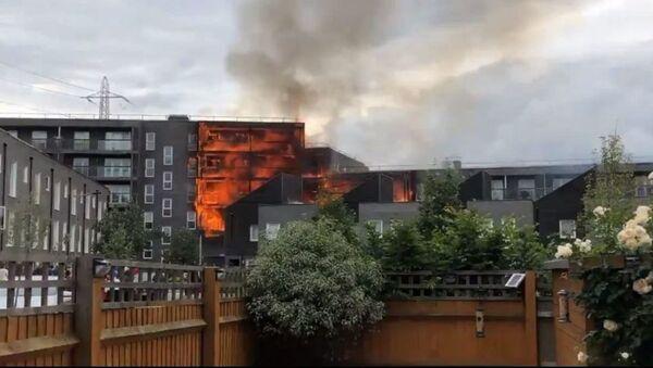 Пожар у источном Лондону - Sputnik Србија