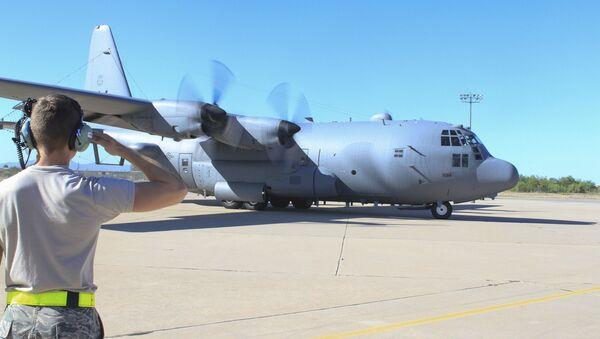 Авион америчког ратног ваздухопловства ЕЦ-130Х у војној бази Дејвис-Монтан у Аризони - Sputnik Србија