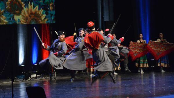 Кубањски козачки хор одушевио је Београђане - Sputnik Србија