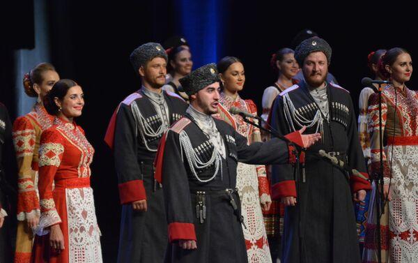 Кубањски козачки хор је најстарији козачки ансамбл у Русији - Sputnik Србија