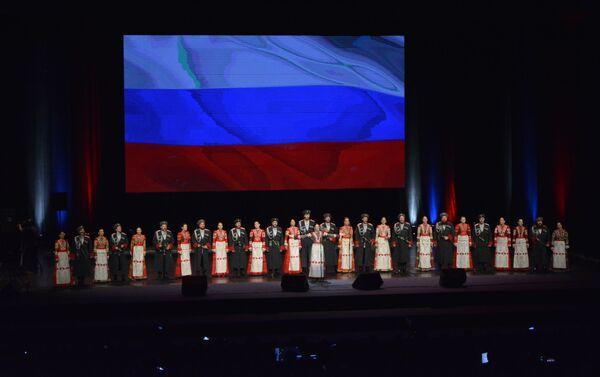 Кубањски козачки хор је гостовао у Београду пре осам година - Sputnik Србија