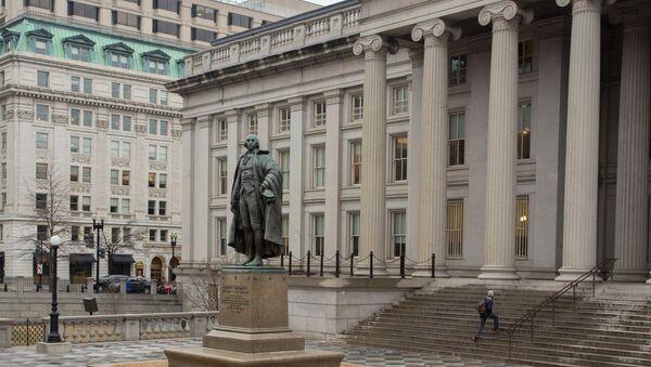 Ministarstvo finansija SAD u Vašingtonu - Sputnik Srbija