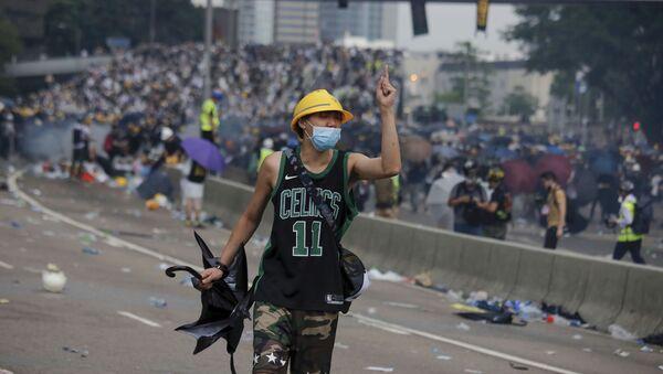 Protest u Hongkongu - Sputnik Srbija