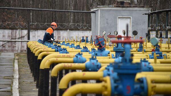 Ukrajinska gasna kompanija Ukrgazdobiča u Lavovskoj oblasti  - Sputnik Srbija