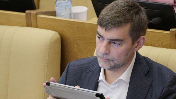 Poslanik Državne dume Rusije Sergej Železnjak - Sputnik Srbija