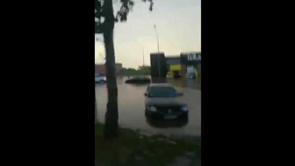 Poplava na Karaburmi - Sputnik Srbija