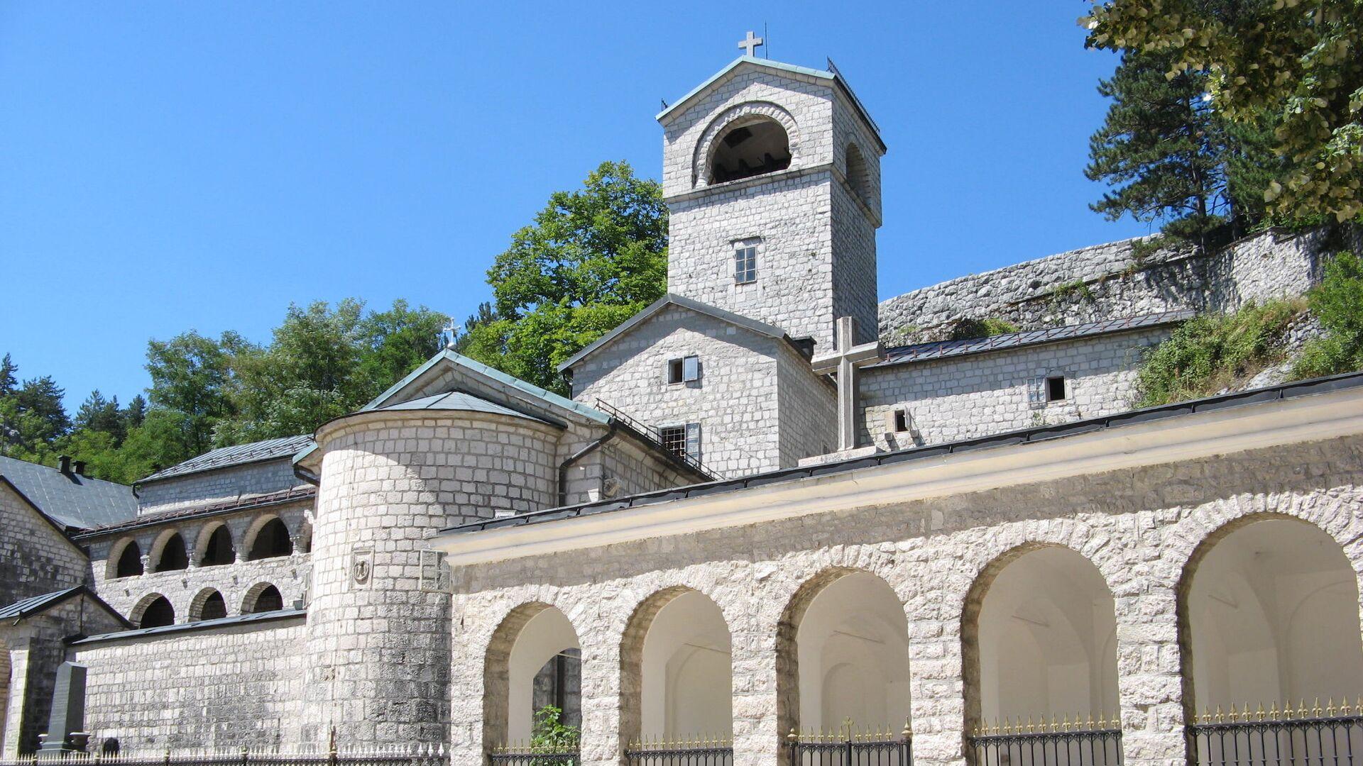Cetinjski manastir - Sputnik Srbija, 1920, 14.09.2021