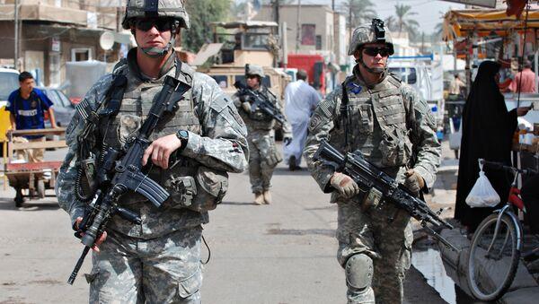 Амерички војници у Ираку  - Sputnik Србија