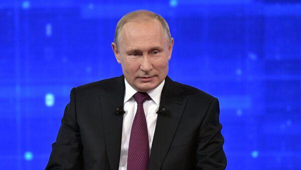 """""""Direktna linija"""" sa Vladimirom Putinom - Sputnik Srbija"""