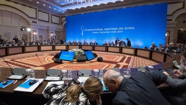 Pregovori o Siriji u Astani - Sputnik Srbija