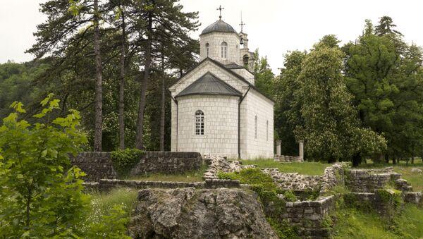 Црква у околини Цетиња - Sputnik Србија