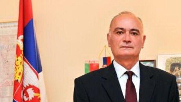 Амбасадор Србије у Белорусији Вељко Ковачевић  - Sputnik Србија