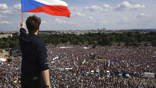 Протест у Прагу - Sputnik Србија
