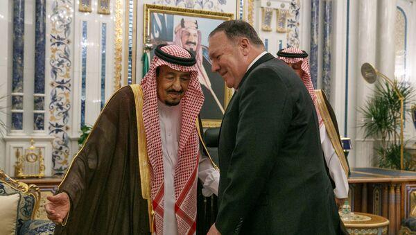 Majk Pompeo u Saudijskoj Arabiji - Sputnik Srbija