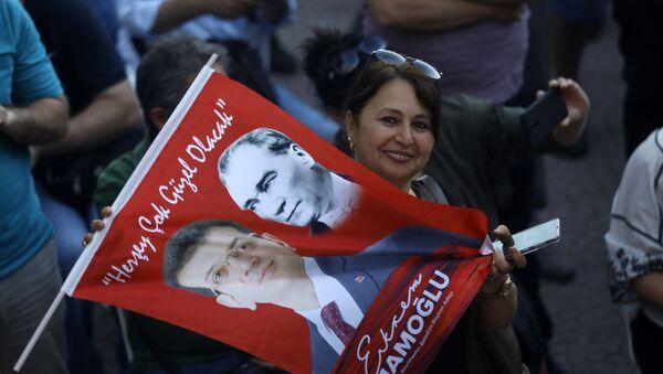 Turska Istanbul izbori Imamoglu - Sputnik Srbija
