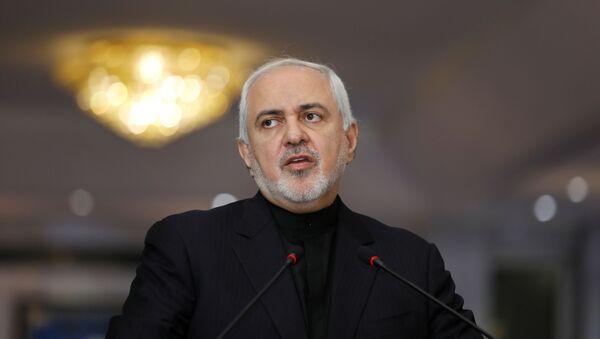 Mинистар спољних послова Ирана Мухамед Џавад Зариф  - Sputnik Србија