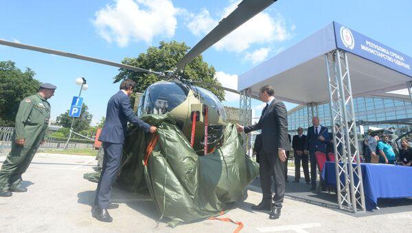 Predaja Erbasovog helikoptera H 145M Srbiji - Sputnik Srbija