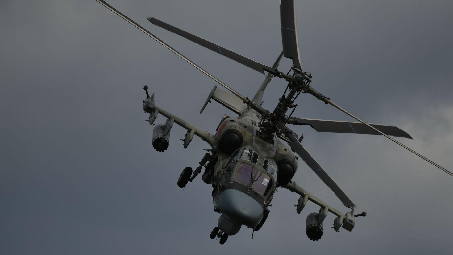 Хеликоптер Ка-52 Алигатор на V Међународном војно-техничком форуму Армија 2019 - Sputnik Србија, 1920, 10.02.2021
