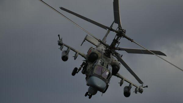 Хеликоптер Ка-52 Алигатор на V Међународном војно-техничком форуму Армија 2019 - Sputnik Србија