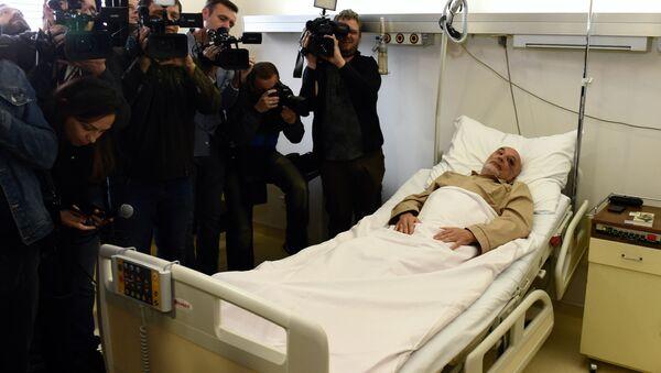 Državljanin Rusije i član misije UN (Unmik) koji je ranjen na Kosovu Mihail Krasnoščekov leži na odeljenju VMA u Beogradu - Sputnik Srbija