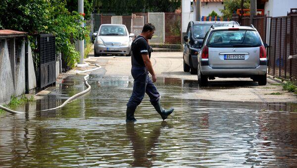 Поплављени Котеж - Sputnik Србија