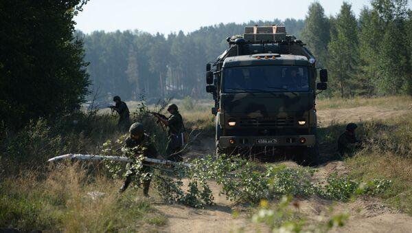 Vojne vežbe u Rusiji - Sputnik Srbija
