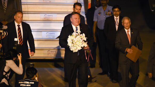 Majk Pompeo stiže u Indiju - Sputnik Srbija