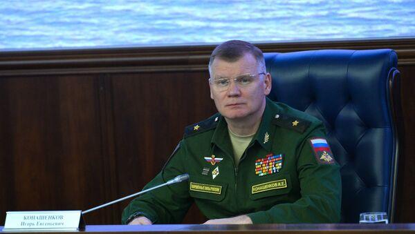 Portparol Ministarstva odbrane Rusije general-major Igor Konašenkov - Sputnik Srbija