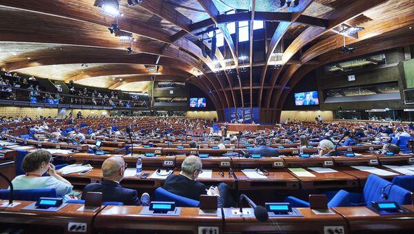 Zasedanje Parlamentarne skupštine Saveta Evrope - Sputnik Srbija