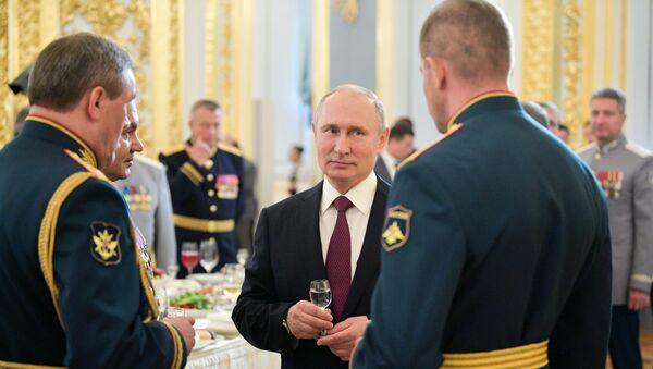 Владимир Путин са питомцима - Sputnik Србија