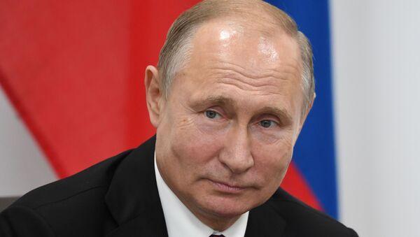 Председник Русије Владимир Путин на самиту Г20 у Јапану - Sputnik Србија