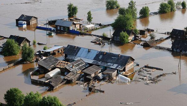 Поплава у Иркутској области Русије - Sputnik Србија