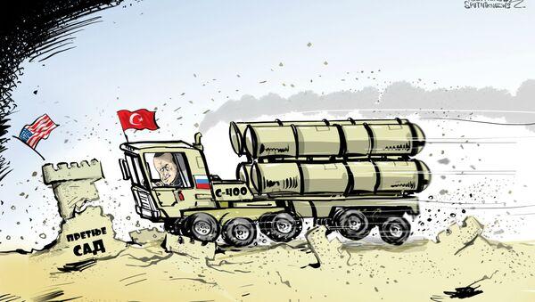 Turska čeka S-400 tokom 10 dana - Sputnik Srbija