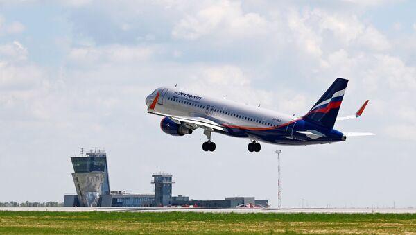 Avion Erbas A320 kompanije Aeroflot - Sputnik Srbija