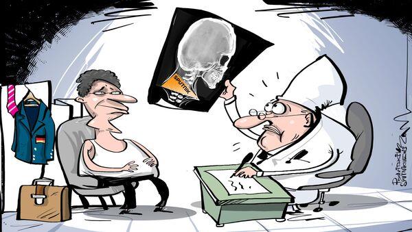 Nemačkim kontraobaveštajcima Sputnjik je kao kost u grlu - Sputnik Srbija