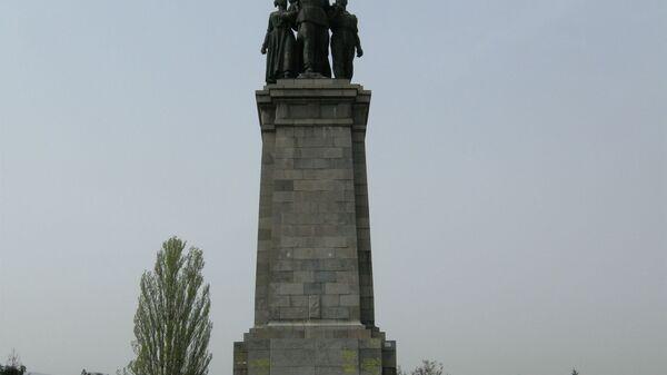 Spomenik sovjetskoj armiji u bugarskoj Sofiji - Sputnik Srbija