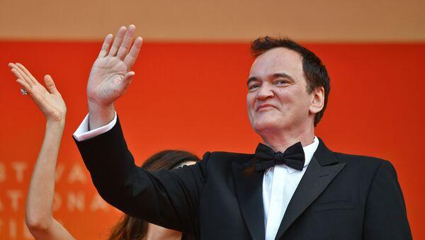 Kventin Tarantino u Kanu - Sputnik Srbija