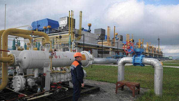 Станица за компримовани земни гас у Закарпатској области Украјине - Sputnik Србија