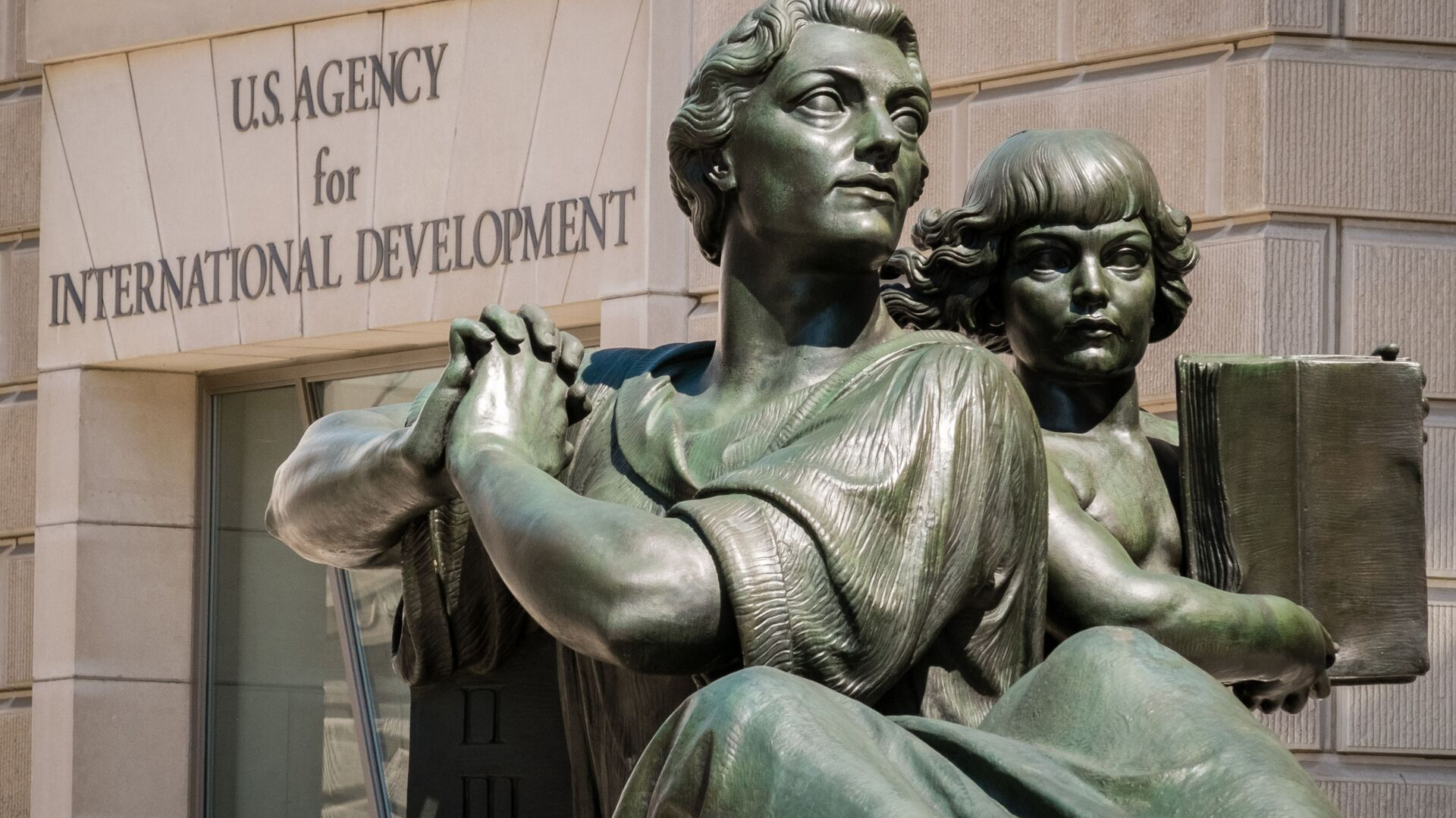 Sedište Američke agencije za međunarodni razvoj (USAID) u Vašingtonu - Sputnik Srbija, 1920, 14.09.2021