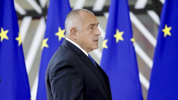 Premijer Bugarske Bojko Borisov dolazi na samit EU u Briselu - Sputnik Srbija